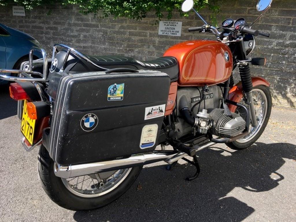 1977 BMW R75