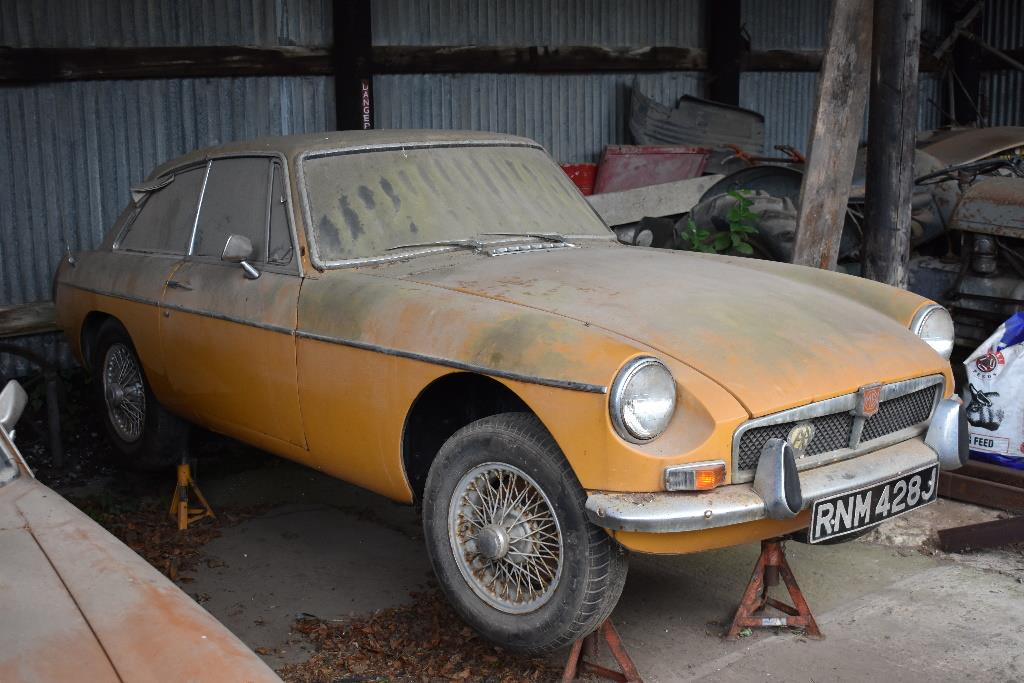 1971 and 1973 MGB Available for Auction