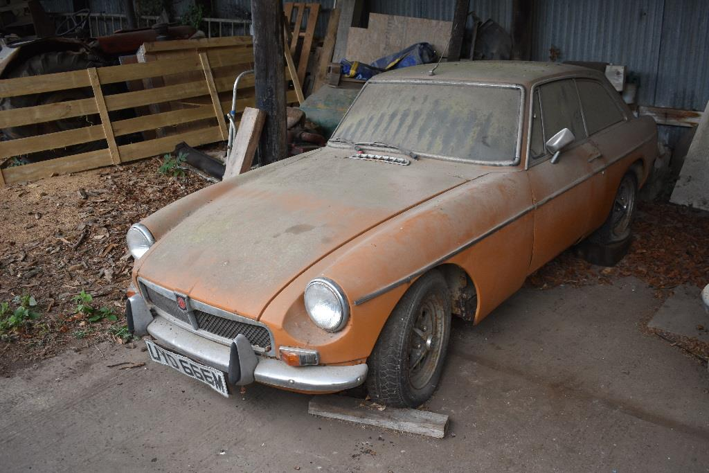 1973 MGB Available for Auction Chartherhouse Auction