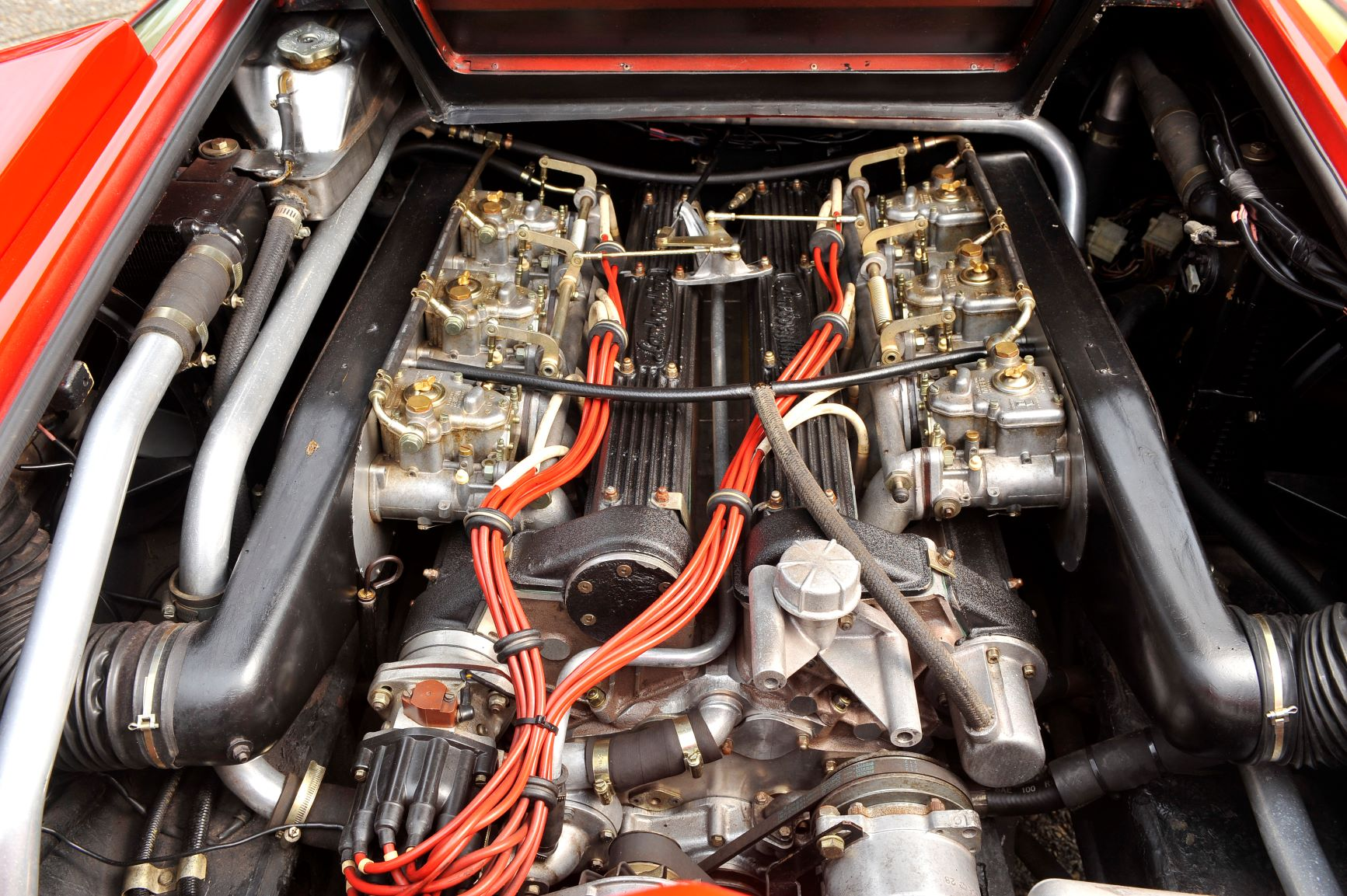 Lamborghini Countach Engine