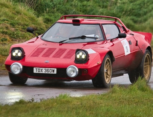 Win a Rally Passenger Experience in a historic rally car!